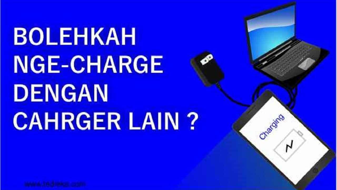 Nge-charge laptop dengan charger lain