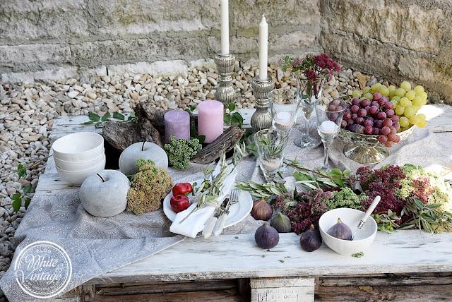kürbisse kücheninsel herbst dekoration ideen küchen interieur