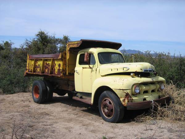Ford F350 Dump Truck For Sale 1954 Ford Dump Truck - Old Truck