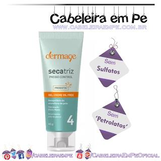 Hidratante Gel-creme Oil Free Prebio Control Secatriz - Dermage