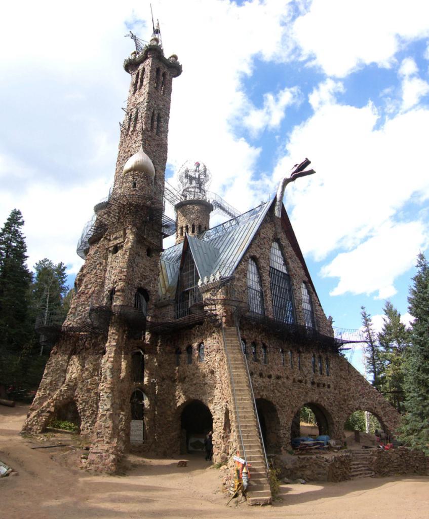 ☺♫♪ SITIO TURISTICO ALGO LOCO, CastilLo Bishop, Bosque Nacional de San Isabel, Rye, Colorado 1