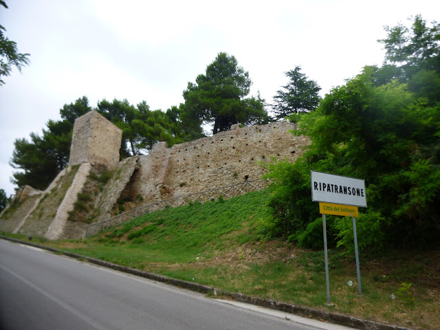 ripatransone ancient wall