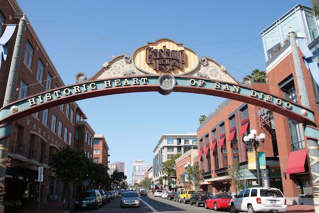 San Diego's Gaslamp Quarter beckons. Photo: SanDiego.org
