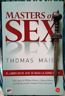 Portada del libro Masters of sex, de Thomas Maier