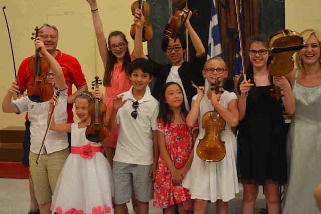 Δύο ποιοτικές διεθνείς μουσικές κλασσικές βραδιές βιολιού και πιάνου στο Βουλευτικό Ναυπλίου