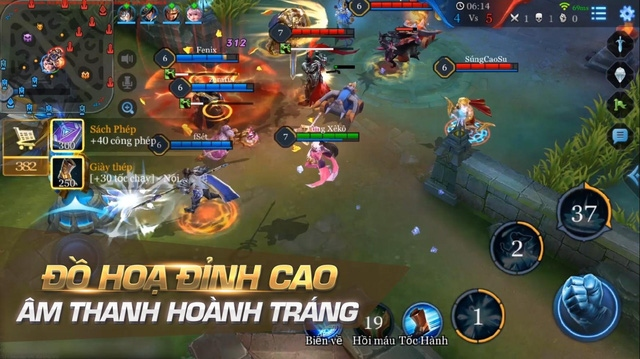 Liên Quân Mobile - Thông tin và Tải game cho Android & iOs