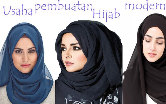 Peluang Usaha Pembuatan Hijab Modern