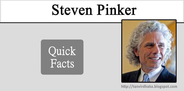 Steven Pinker Quick Facts