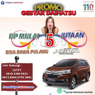 Promo Daihatsu Xenia Jakarta Timur, Dp Cuma 5 Jutaan