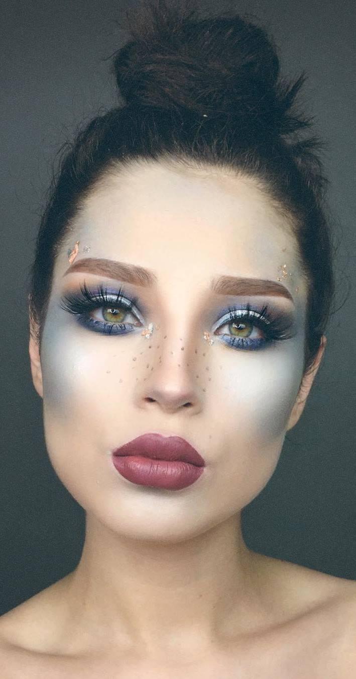 perfect cold make up idea
