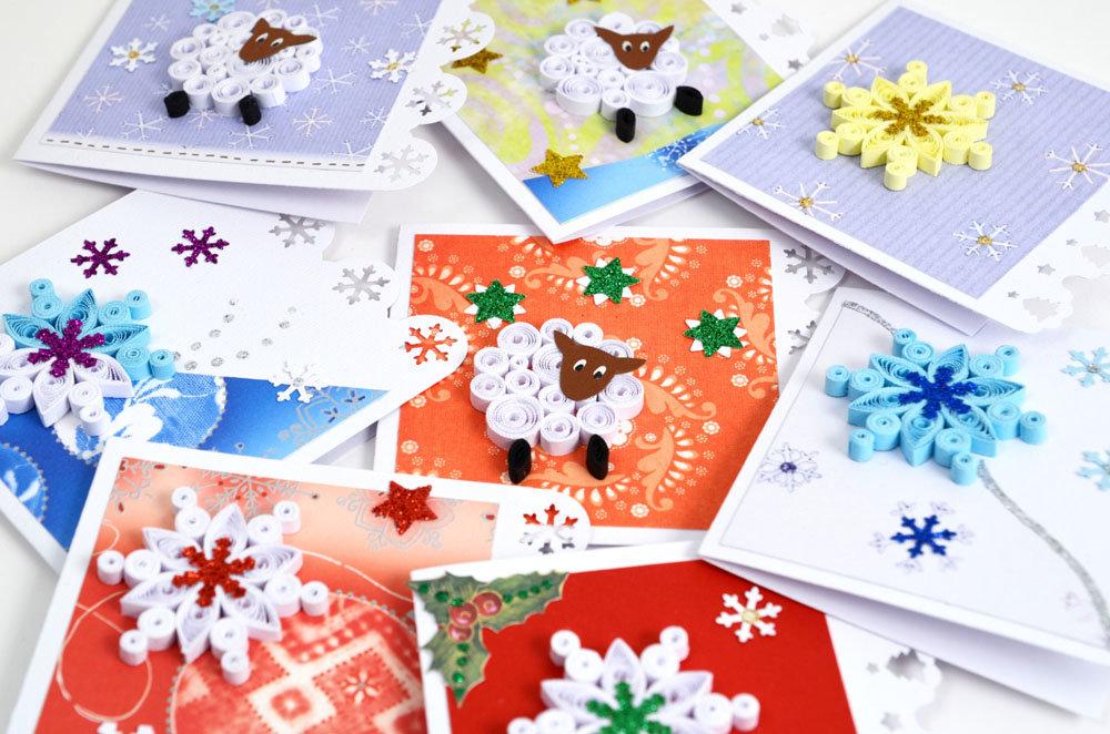 новогодние открытки и сувениры своими руками должна иметь яркий