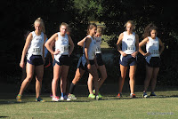 Maclay girls cross-country team