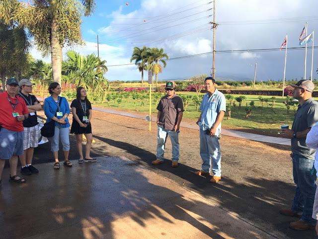 Kauai coffee staff