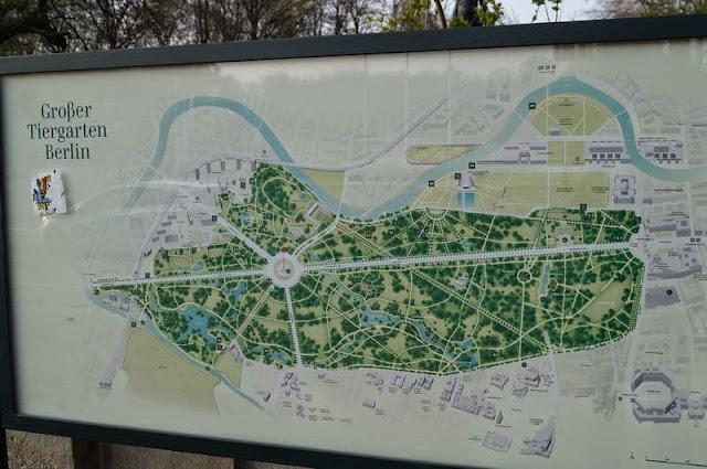 Tiergarten mapa