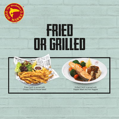 The Manhattan FISH MARKET Fried or Grilled