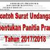 Download Undangan Pembentukan Panitia Pramuka Terbaru