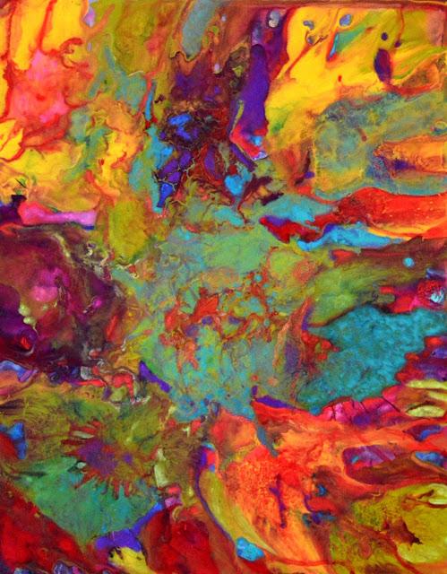 Bebee Pino abstract painting