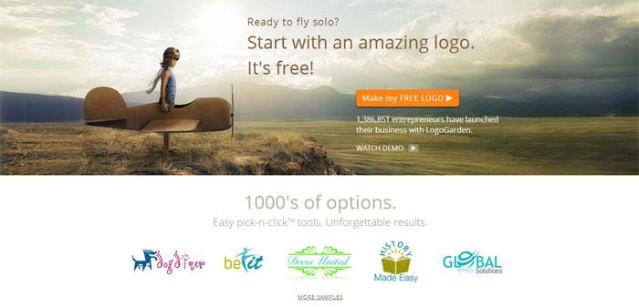 Cara Membuat Logo Online di Situs LogoGarden