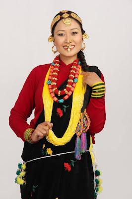 Miss Mongol Sapana Roka Magar  magar Dress