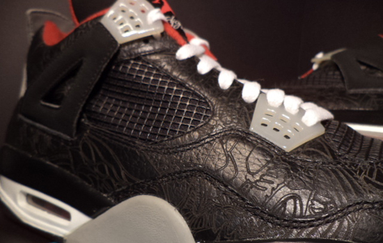 2015 Nike Jordan 4 Cheap sale Laser White Varsity Red Black