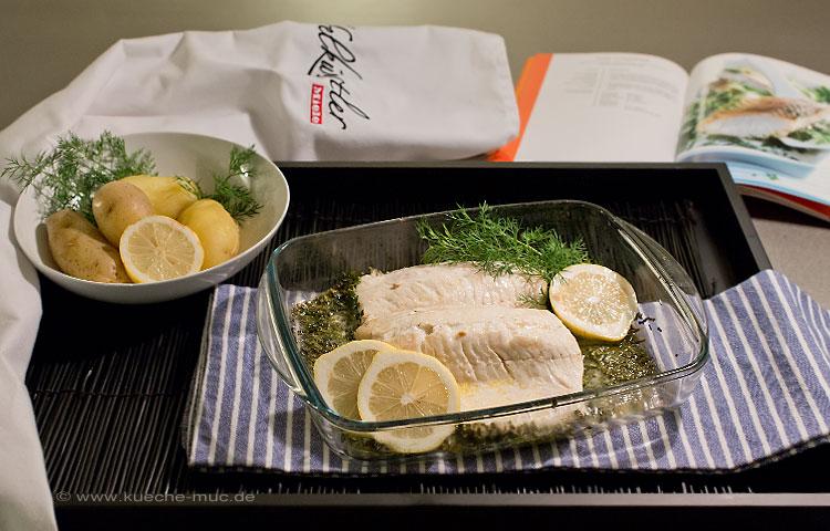 Wir Renovieren Ihre Kuche Klimagaren Im Miele Backofen Fisch