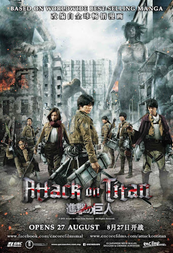 Attack On Titan: Part 1 (BRRip 1080p Japones Subtitulada) (2015)