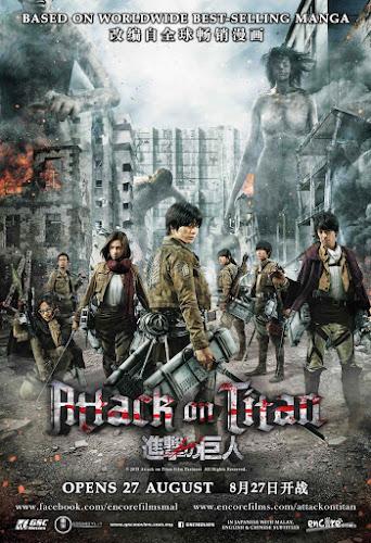 Attack On Titan: Part 1 (BRRip 1080p Japones Subtitulada) (2015)