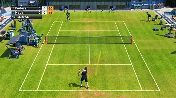 VIRTUA TENNIS CHALLENGUE GAME ANDROIDTV GAMEPAD ANDROID WAMO PRO