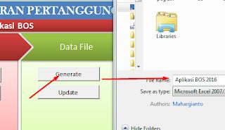 tombol generate file lembar kerja alpeka bos