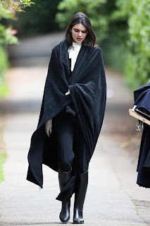 Kendall Jenner - Doing a photoshoot in London