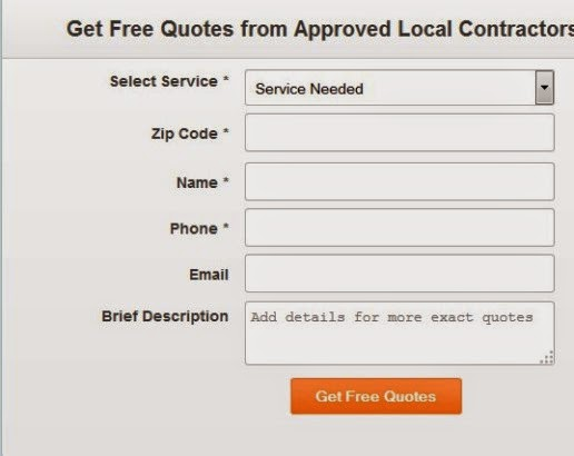 Get Free Quotes Form