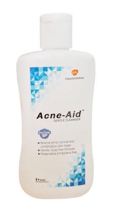 Acne-aid gentle cleanser รักษาสิวผด