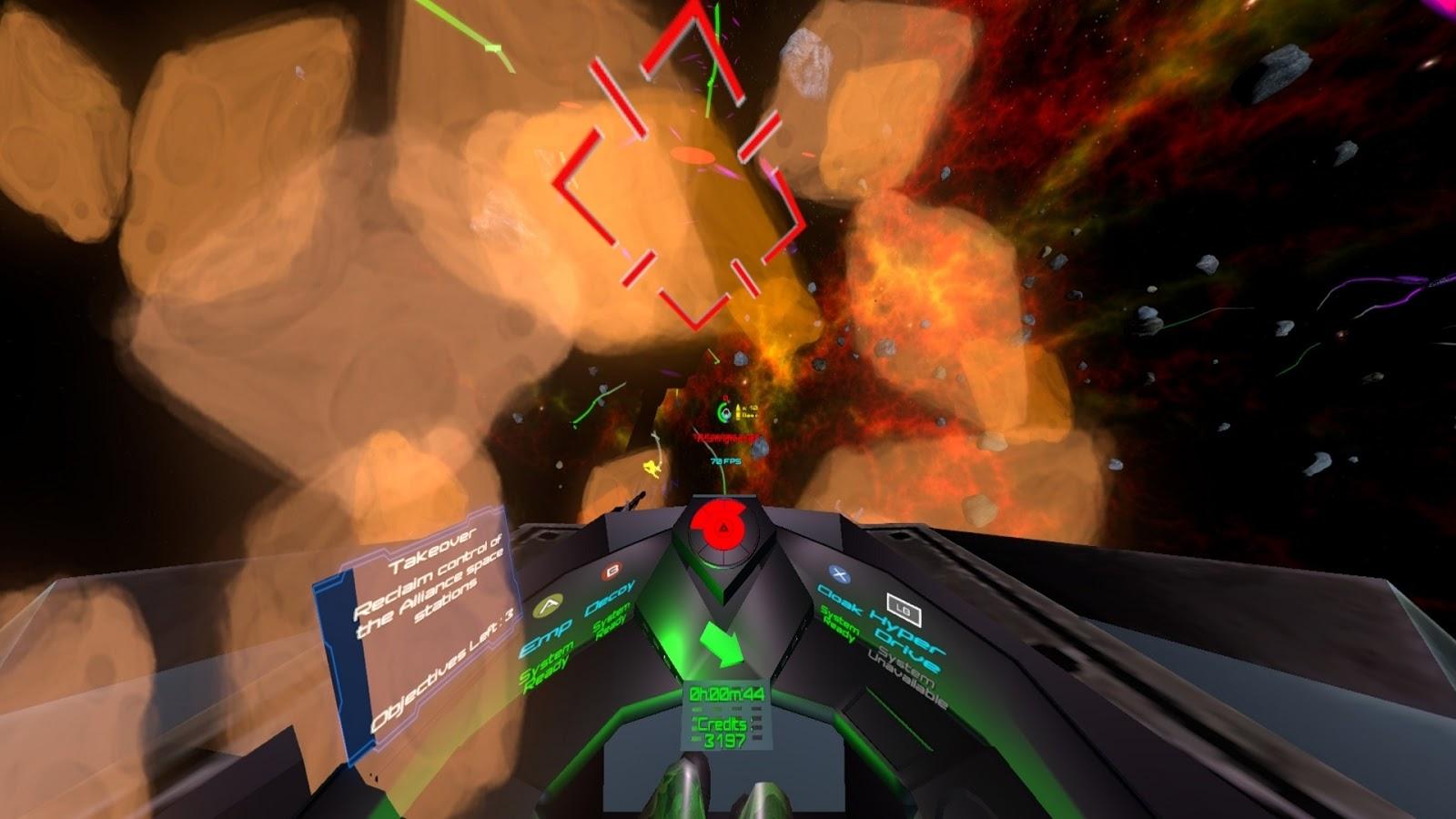 لعبة استكشاف الفضاء