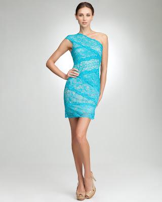 blue lace dress floral burnout