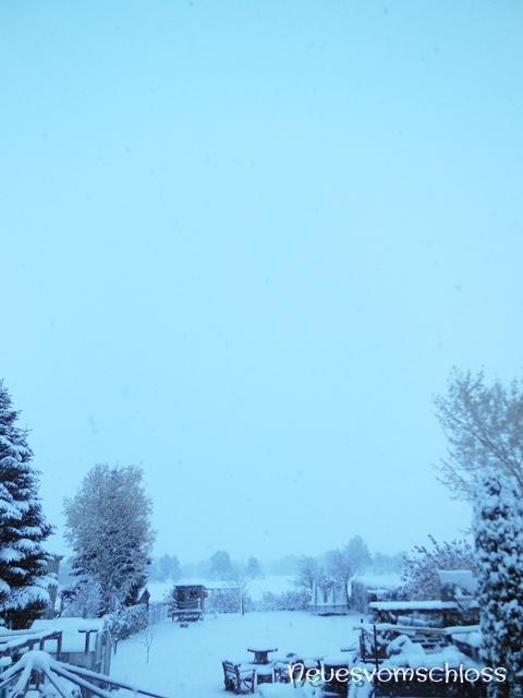 Winter, Schneefreude- neuesvomschloss.blogspot.de