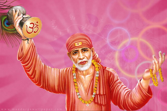 Sai Baba HD Wallpaper