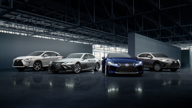 New Lexus  Fast as h  Campaign Clears the Air About Hybrid Performance