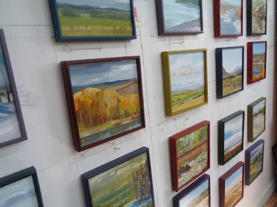 Alberta landscape paintings - and a few BC landscape paintings