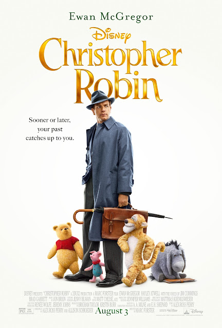 Christopher Robin 2018 Disney movie poster