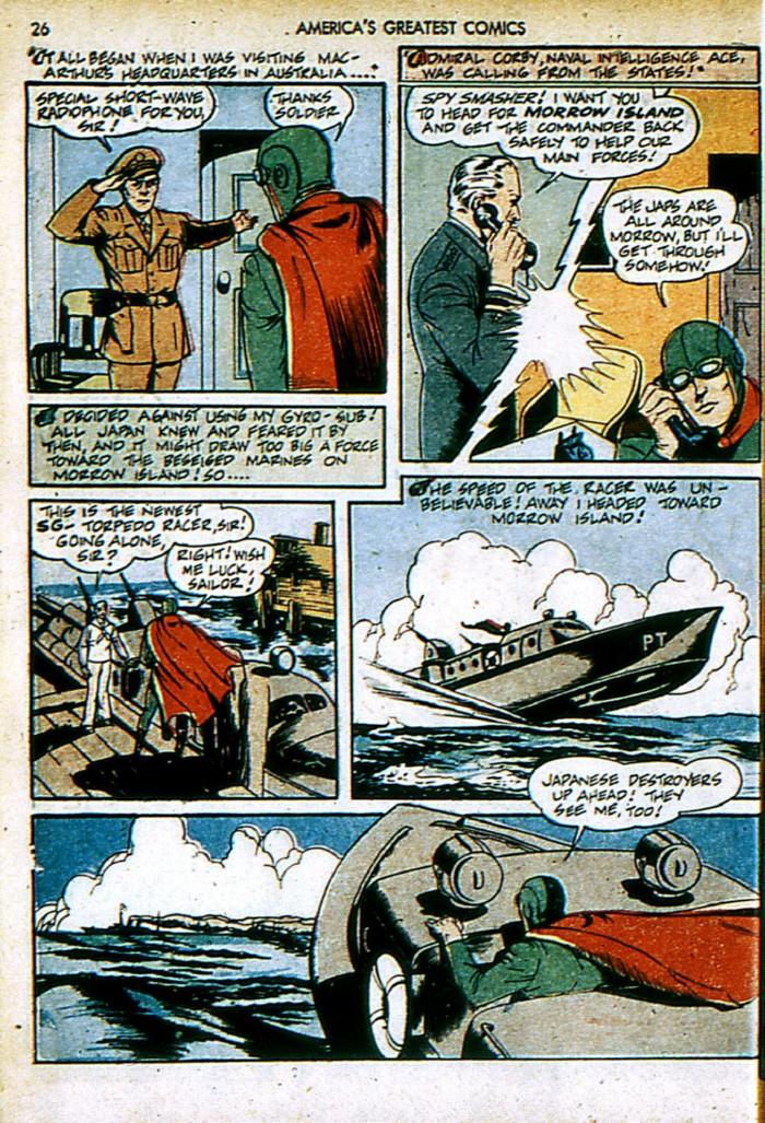 Read online America's Greatest Comics comic -  Issue #4 - 26