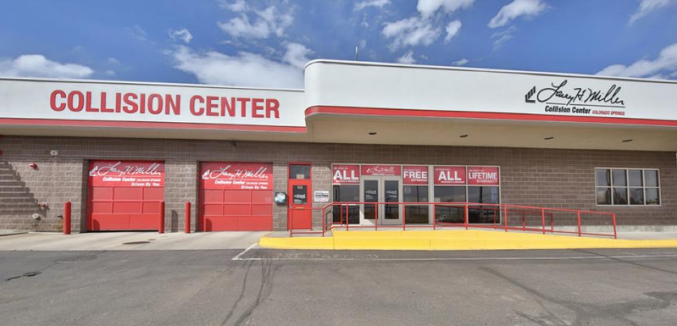 Larry H Miller Toyota Colorado Springs >> Larry H. Miller Collision Centers