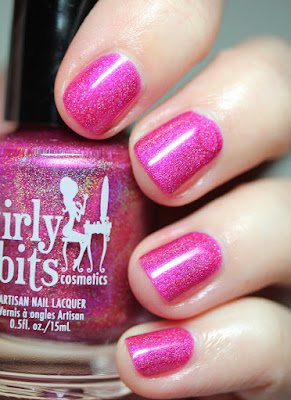 Girly Bits November CoTM Nail Polish The Fuchsia Is Ours