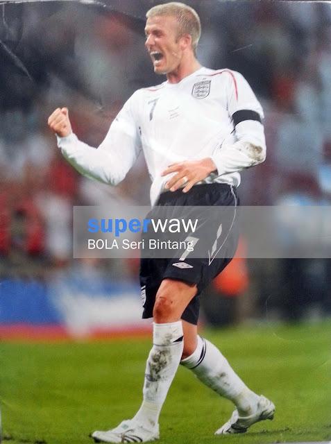 Pin up David Beckham (Inggris)