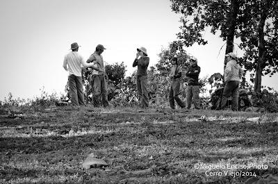 Excursionistas en la cima de Cerro Viejo - @Miguel Enciso