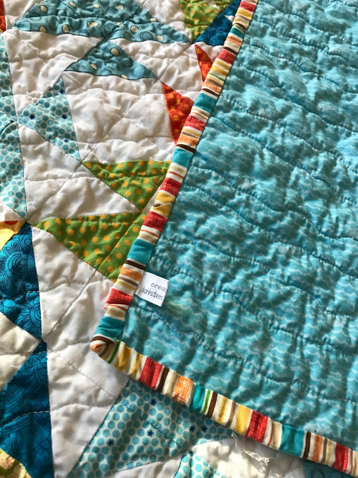 acorn ridge one blue quilting fish quilt two red