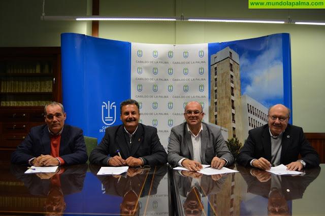 El Cabildo, el Ayuntamiento de Puntagorda y el IAC suscriben el convenio que propicia la instalación del TMT en La Palma