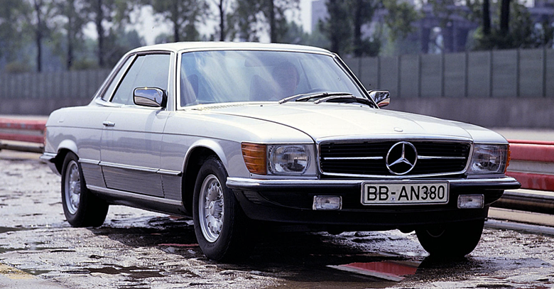 1978 Mercedes-Benz 450 SLC Review