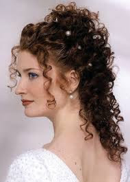 Peinados Rizados Para Novias