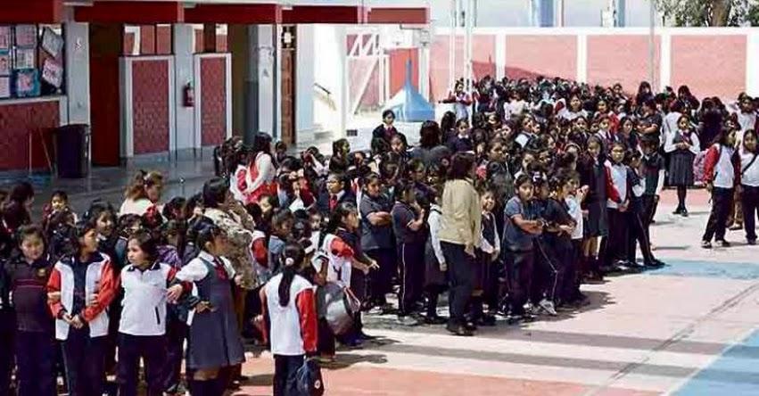 Escolares de Tacna recuperan horas perdidas y concluyen «Año Escolar» antes de Navidad