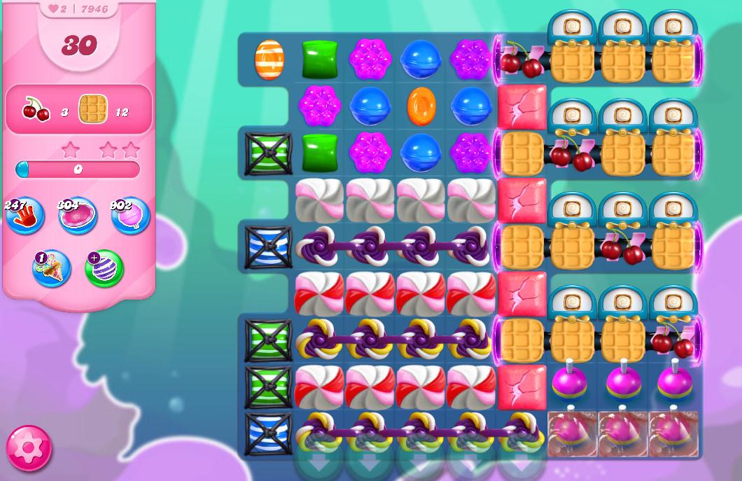 Candy Crush Saga level 7946